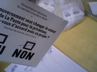 postes référendum